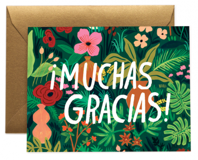 Muchas Gracias - Rifle Paper Co.