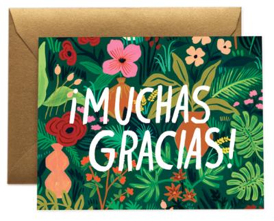 Muchas Gracias - Rifle