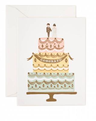 Congrats Wedding Cake Rifle Paper Co