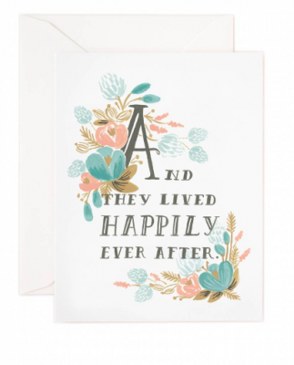 Happily Ever After Rifle Paper Co