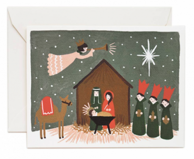 Nativity Card - Rifle Paper Co.