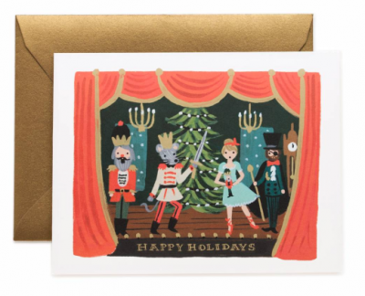 Nutcracker Scene Card Rifle Paper Co