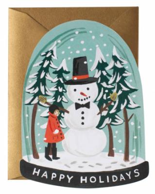 Snow Globe Card - Rifle Paper Co.