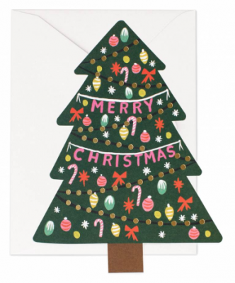 Christmas Tree Card - Grußkarte