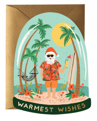 Warm Wishes Card - Rifle Paper Co.