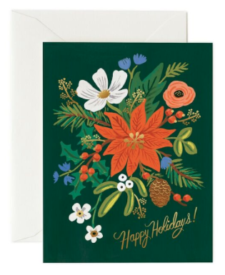 Holiday Bouquet Card - Grußkarte