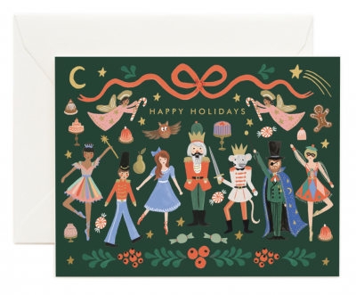 Nuitcracker Card - Greeting Card