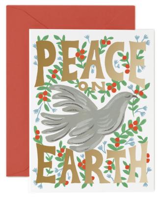 Peace Dove Card - Rifle Paper