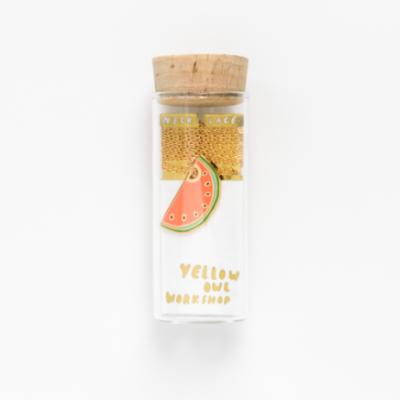 Watermelon Pendant - Yellow Owl Workshop