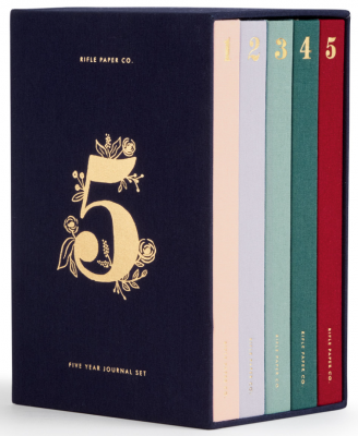 Year Keepsake Journal Set Rifle Paper