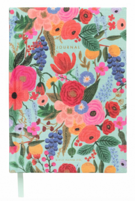 Garden Party Fabric Journal - Journal