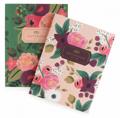Vintage Blossoms Notebook Set - Notizbuch Set