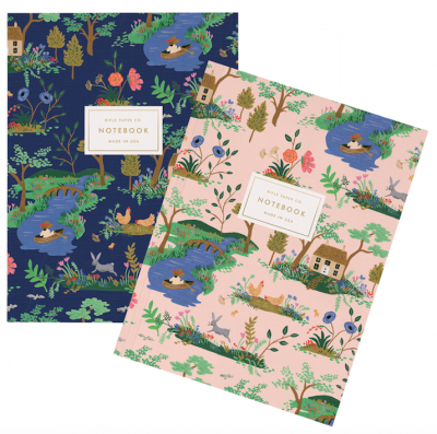 Garden Toile Notebook Set - Notizbuch Set
