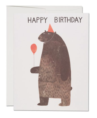 Party Bear - Red Cap Cards