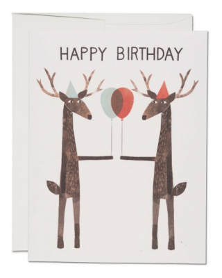 Party Deer - Red Cap Cards