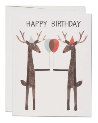 Party Deer - Red Cap Cards
