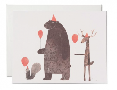 Party Animals - Red Cap Cards