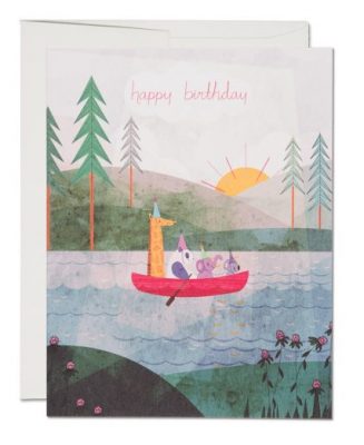 For Canoe - Red Cap Cards