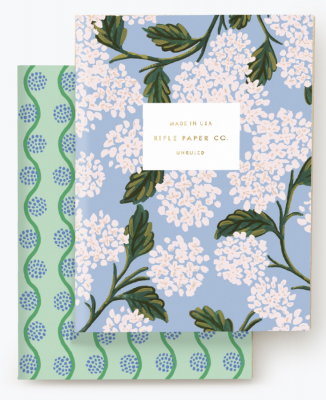 Hydrangea Pocket Notebook Set Rifle Paper