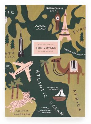 Bon Voyage Journal - Notizbuch - Reisetagebuch
