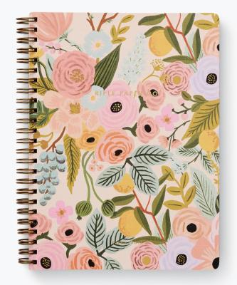 Garden Party Spiral Notebook Rifle Paper