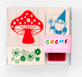 Gnome / Mushroom - Yellow Owl Workshop