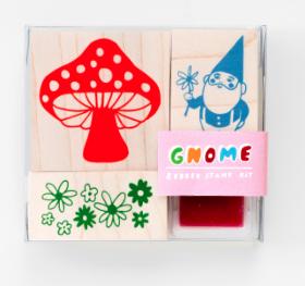 Gnome / Mushroom - Yellow Owl