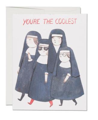 Nuns - Red Cap Cards