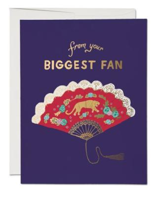 Biggest Fan - Red Cap Cards