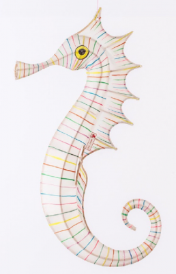 Lampion Cheval De Mer Multicolor Petit