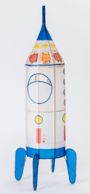 Lampion Fusée - Petit Pan Lampe