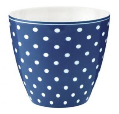 Latte Cup Spot Blue Green Gate