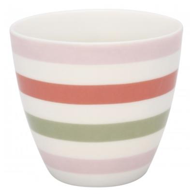 Latte Cup Valentina White Green Gate