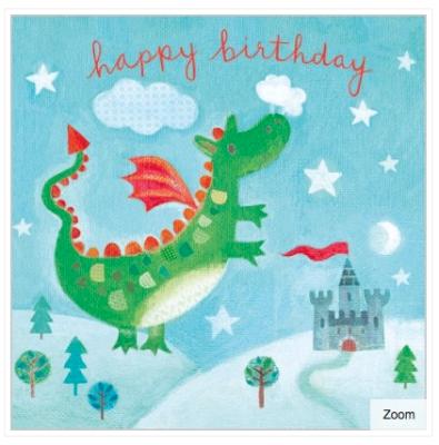 Dragon Card - Maddicott