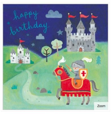 Knight s Castle Card - Maddicott