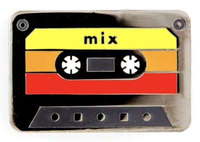 Mix Tape Pin These Are Things