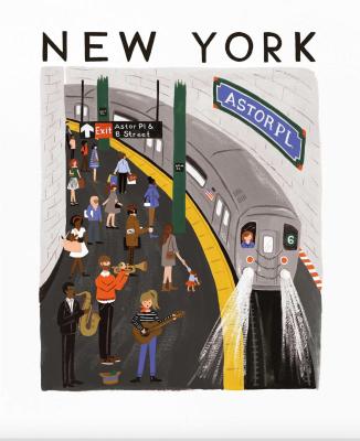 New York World Traveler Art Print