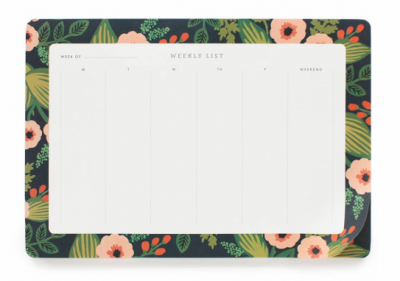 Jardin Weekly Desk Pad - Wochenplaner - Rifle Paper Co.