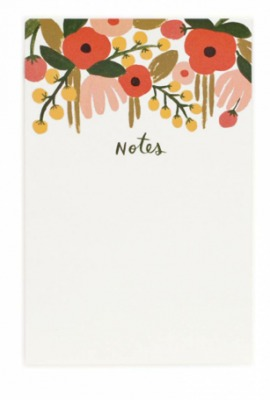 Hanging Garden Notepad Notizblock Rifle Paper