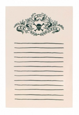 Do or Die Notepad Rifle Paper