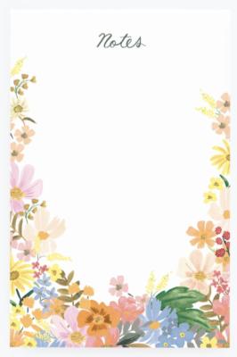 Marguerite Notepad - Notizblock