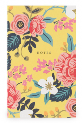 Birch Floral Pocket Notepad Rifle Paper