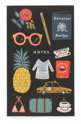 Bon Voyage Pocket Notepad Rifle Paper
