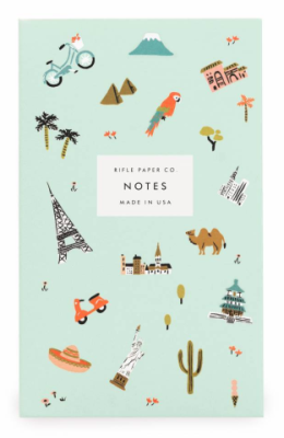 Wanderlust Pocket Notepad - Rifle Paper Co.