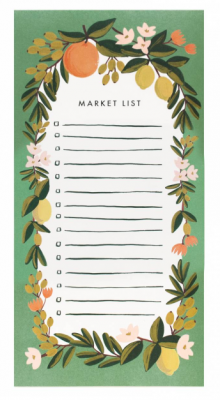 Citrus Floral - Julep Market Pad - Rifle Paper Co.