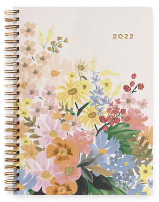 Marguerite Softcover Spiral Planner Month Softcover