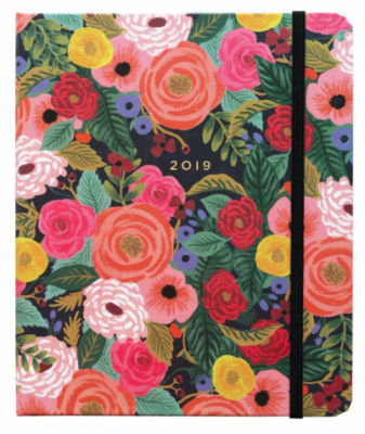 Juliet Rose Covered Planner - Rifle Paper Terminplaner