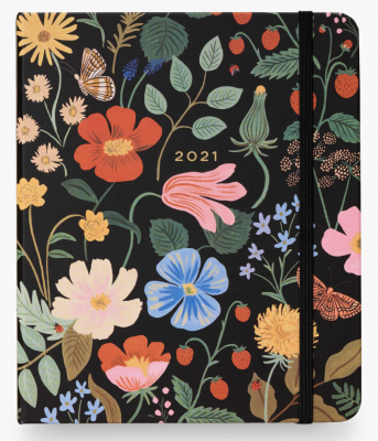Strawberry Fields Covered Planner Rifle Paper
