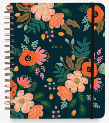 2018 Lively Floral Planner - Rifle Paper Co. Terminplaner