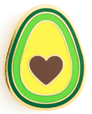 Avocado Heart Pin - These Are Things